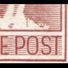 14VIII Schwarzaufdruck 60 Pf mit PLF VIII Linienbrüche, gestempelt, BPP-geprüft
