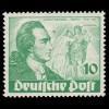 113I Briefmarke 10 Pf. mit PLF I weißer Fleck unter UT, ** geprüft Schlegel BPP