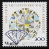 112II Bundestag 20 Pf. mit Plattenfehler II Strich im T von POST, Feld 41, **