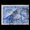 113 Briefmarke 10 Pf mit PLF gebrochener Rahmen unten links, Feld 33, O geprüft