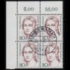 111-112 Bundestag - Satz komplett gestempelt, Zähnung und Stempel laut Abbildung