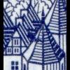 142 Stadtbilder 7 Pf. Funkturm: Ecke mit Druckerzeichen 7, **