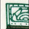 29a MH SWK 1993 mit PLF VII: Strich im Ornament, Feld 4, VS-O Frankfurt 10.11.93