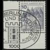 532 Burgen u.Schl. 10 Pf Ecke ul ESST Berlin