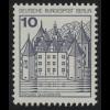 532I BuS alte Fluo 10 Pf, Einzelmarke + Nr. **