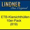 LINDNER ETB-Klarsichthüllen 819, 10er-Pack