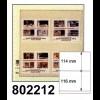 LINDNER-T-Blanko - Einzelblatt 802 212