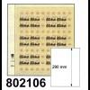 LINDNER-T-Blanko-Blätter 802 106 - 10er-Packung
