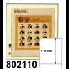 LINDNER-T-Blanko-Blätter 802 110 - 10er-Packung