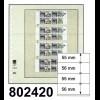 LINDNER-T-Blanko-Blätter 802 420 - 10er-Packung