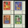 412-15 Wofa Holzspielzeug 1971, FN2 Satz **