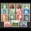 148-161 Bund-Jahrgang 1952 komplett, postfrisch