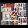 791-825 Bund-Jahrgang 1974 komplett, gestempelt O