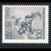 1466 Druckprobe Post Berlin (MICHEL 860) auf Leuschner, **