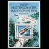 Block 23 Bob-WM Altenberg mit ESSt Berlin 8.1.1991