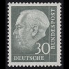 259xv Theodor Heuss 30 Pf **
