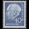 260y Theodor Heuss 40 Pf **