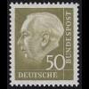 261xv Theodor Heuss 50 Pf **