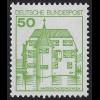 1038AII u Burgen und Schlösser 50 Pf Inzlingen, ** LETTERSET