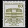 1140DI Burgen und Schlösser 80 Pf Wilhelmsthal, **