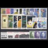 993-1017 Dänemark Jahrgang 1991 - 25 Marken komplett, postfrisch