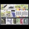 1199-1232 Dänemark Jahrgang 1999 - 28 Marken und 3 Blöcke komplett, postfrisch