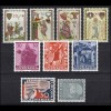 415-426 Liechtenstein-Jahrgang 1962 komplett, postfrisch