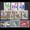 427-436 Liechtenstein-Jahrgang 1963 komplett, postfrisch