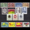 506-520 Liechtenstein-Jahrgang 1969 komplett, postfrisch