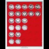 LINDNER Münzenbox Standard für 30 mal 10 Euro in Kapseln