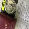 Frankreich Silbermünze (950) zu 100 Francs Fraternite, 1988, 15 g PP