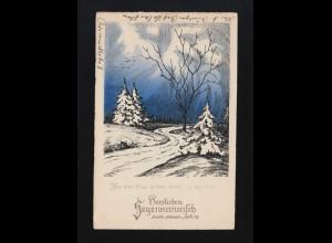 Segenswunsch Neujahr, Wie deine Tage so deine Kraft Bad Salzuflen 30.12.1927