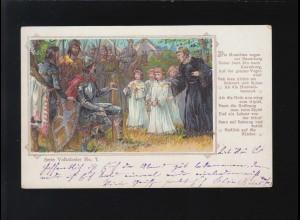 Volkslieder Die Hussitten zogen vor Naumburg ueber Jena, Hamburg 16.3.1901
