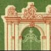 171 Ausstellung IFRABA 10 Pf - mit markanter Passerverschiebung Farbe braun **