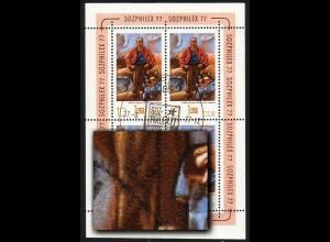 2247 SOZPHILEX-KB 10 Pf: dunkler Fleck, F.2, SSt Berlin