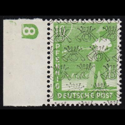Block 1 Währungsgeschädigte 1949 - postfrisch ** geprüft Schlegel BPP