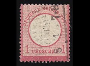 19VII Brustschild 1 Gr. mit PLF VII gebrochenes H in DEUTSCHE, gestempelt