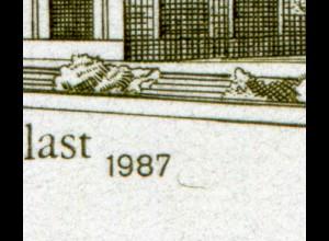 3078 Berlin: Paar aus Kleinbogen mit PLF Haken hinter der Jahreszahl, Feld 2, **