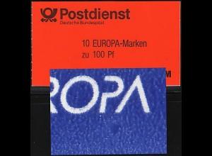 30 MH Europa/CEPT mit PLF blauer Fleck Feld 2 postfrisch **