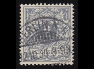 52I Ziffer 2 Pf. mit PLF I C mit Abstrich unten rechts, BERLIN 12.10.06