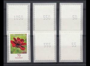 63 Goethe 30 Pf. mit PLF Farbpunkt links unten im Markenrand, Marke mit Falz *