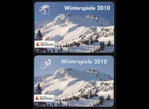 PortoCard Individuell: Winterspiele 2010 Andre Lange + Kati Wilhelm, beide SSt