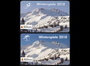 PortoCard Individuell: Winterspiele 2010 Andre Lange + Kati Wilhelm, beide **