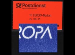 30 MH Europa/CEPT mit PLF blauer Fleck Feld 2 **