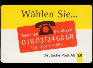 PortoCard P-1997-151.000-1 Wählen Sie... Versandstelle Frankfurt mit 2mal 1870**