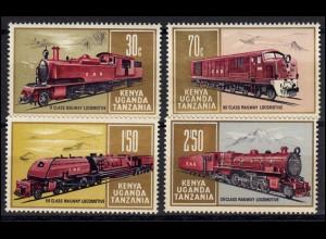 Ostafrikanische Gemeinschaft 217-220 Eisenbahnen Lokomotiven, Satz **