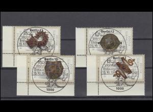 515 Katholikentag 1966: 2 Ecken mit FN 1 und FN 2 **