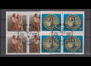 Österreich 772-775B Karl Renner, auf gelbem Japanpapier, UNGEZÄHNT, Satz **