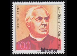868-871 Jugend Max und Moritz 1990 mit Oberrand, Satz VS-O WEIDEN 19.4.90