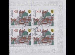 1765 Quedlinburg: Rand-Vbl. rechts, zentrischer Vollstempel NETTETAL 9.11.94